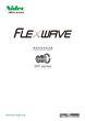 精密制御用減速機FLEXWAVEシリーズ