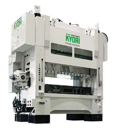 Large Scale High Performance Press  TVX series